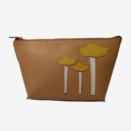 Makeup Bag Camel